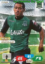 077 ISAEL BRAZIL # FK.KRASNODAR CD Nacional CARD ADRENALYN PANINI 2012