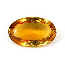 TOP CITRINE : 28,18 Ct Natürlicher Honig Gelb Bahia Citrin aus Brasilien