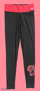 Woman's VICTORIA'S SECRET PINK Red Black Athletic Pants Junior Size Extra Small