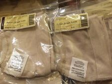 Longaberger Baskets FLAX Cream Color Buffet Buddy LoT Of 2 LINERS New 23771239