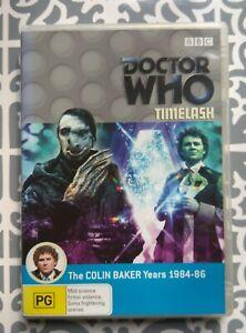 Doctor Who - Timelash DVD Region 4, 2007