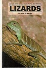 Lizards by David Moenich 1990 Hardcover Book Vintage Rare Iguana Gecko Reptiles
