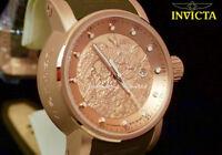 New Invicta 12791 S1 Yakuza Dragon 24 Jewels Automatic 18K Rose Gold Watch