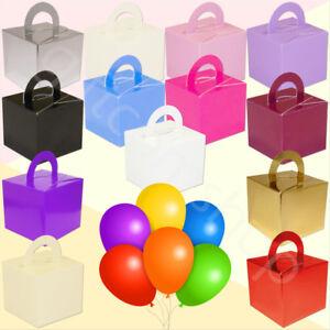 Helium Balloon Weights Mini Gift Box Weight Boxes Birthday Party Wedding Decor
