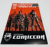 G.I. Joe The Cobra Files #1 IDW Comics 2013 Ottawa ComicCon Variant RE