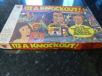 Its A Knockout! Vintage BBC TV Board Game By Strawberry Fayre Denys Fisher
