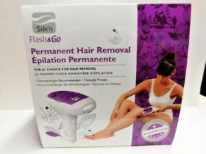 New Silk'n Flash & Go Permanent Laser Hair Removal Device