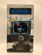 The Wonderful World Of Disney Update '95 Vhs - Factory Sealed