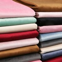 Velvet Fabric Thick Clothes Curtain Velour Cloth Pillow Sofa DIY 1 Meter Costume