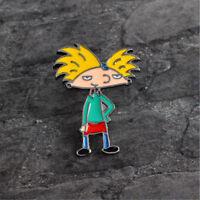 Cute Unisex Alloy Cartoon Cool Boy Enamel Brooch Pin Badge Fashion Jewelry 1pc