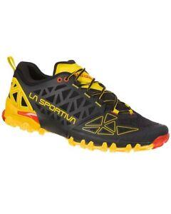 La Sportiva Bushido II Men's Shoes, Black/Yellow