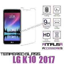 PELLICOLA IN VETRO TEMPERATO PER LG K10 2017 TEMPERED GLASS SCREEN PROTECTOR