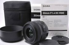 Sigma Standard Lens 30mm F1.4 DC HSM for Sony Digital SLR Camera from Japan New