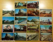 Lot of 18 Vintage Postcards ALL BOSTON & MAINE RAILROAD B & M