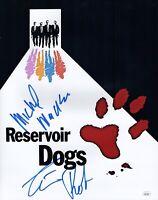 MICHAEL MADSEN & TIM ROTH Signed 11x14 Photo RESERVOIR DOGS Autograph JSA COA