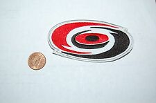 "Carolina Hurricanes 3 3/4"" Patch 1997-Present Primary Logo Hockey"