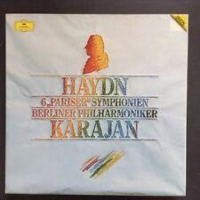HAYDN - 6 Pariser symphonien - Berliner Philharmoniquer - Karajan - 3 vinyles