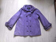 Manteau caban violet taille L K ZELL