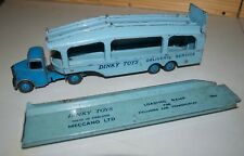 Dinky Toys Vintage 982 Bedford Pullmore Car Transporter and 794 Ramp - 1950's