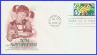 US #3832 U/A ARTCRAFT FDC   Year of the Monkey
