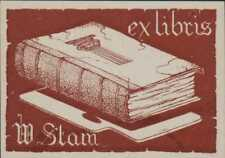 'W. Stam' Ex-Libris  Bookplate   RO.55