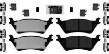 Disc Brake Pad Set-Ceramic Pad Kit with hardware Rear fits 2012 Ford F-150