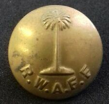 Royal West African Frontier Force RWAFF Force 22mm Tunic Button by W Dowler