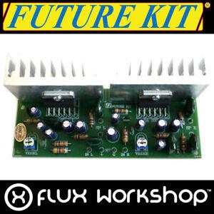 Future Kit Stereo Audio Amplifier DIY FK608 15W 20Hz 20kHz Solder Flux Workshop