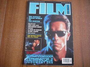 FILM MONTHLY - SEPTEMBER 1991 - TIM BURTON, ARNOLD SCHWARZENEGGER,