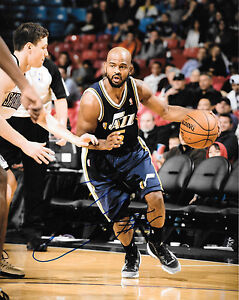 GFA  Utah Jazz  * JOHN LUCAS III *  Signed 8x10 Photo J2 COA