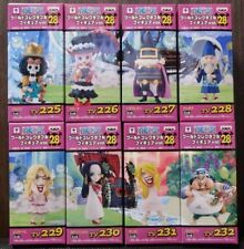 ONE PIECE WCF World Collectable Figure vol.28 Complete set from Japam F/S