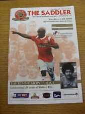 08/02/2014 Walsall v Milton Keynes Dons  . Footy Progs/Bobfrankandelvis, experie