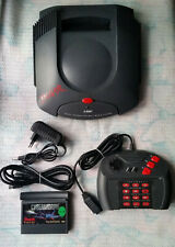 Atari Jaguar Console With Cables, Controller and CYBERMORPH EUROPEAN Working !