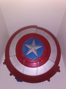 Hasbro Marvel Avengers Captain America Shield Blaster Dart Gun Rare Cosplay G3