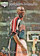 1998 UPPER DECK MICHAEL JORDAN TRIBUTE MOMENT REFLECTIONS #MJ80 BASKETBALL CARD