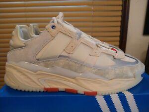 Adidas Originals Niteball FX7643 Size 9.5 Moon NASA Cream White Grey Halo Ivory
