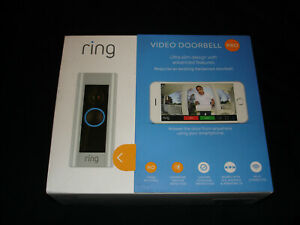 RING VIDEO DOORBELL PRO 1080 HD VIDEO WIFI ADVANCED MOTION DETECTION NIB