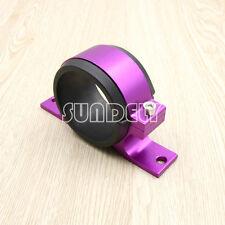 60mm Fuel Filter Bracket Mount Clamp Fits Bosch 044 Pump Billet Aluminum Purple