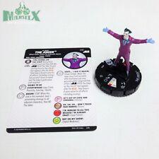 Heroclix Justice League Unlimited set The Joker #010 Common figure w/card!