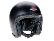 Davida Speedster V3 Schwarz Matt Open Face Helm Jethelm Motorradhelm Gr. XL (60