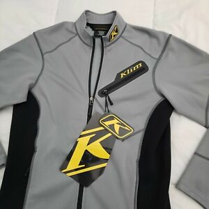 New Klim Inferno Jacket Gray Size Small 3354-004-120-600