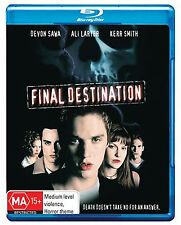 FINAL DESTINATION Bluray Disc - Devon Sawa +Special Features  FREE SHIPPING