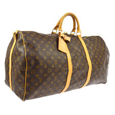 LOUIS VUITTON KEEPALL 60 BANDOULIERE 2WAY TRAVEL BAG MB1000 MONOGRAM BT16807i