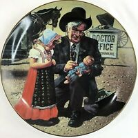 "Children of the American Frontier ""A Special Patient"" Collector Plate Don Cook"