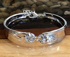 Daffodil * 1950-1973 * 1847 Rogers * Vintage Silver Plated Spoon Bracelet