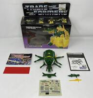 Transformers Original G1 1985 Insecticon Barrage w/ Original Box + weapons