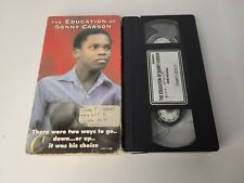 Education of Sonny Carson ORIGINAL VHS TAPE 1974 Pro Black anti gang