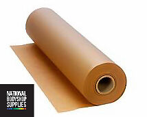 """1  Roll of Brown Mastercare high quality Pro 18"""" Masking Paper / 200 meters long"""