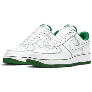 Men's Nike Air Force 1 '07 CV1724-103 Basketball White Pine Green Shoes NEW
