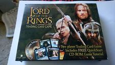 NEW LINE CINEMA THE LORD OF THE RINGS TRADING CARD GAME  CD-ROM GAME